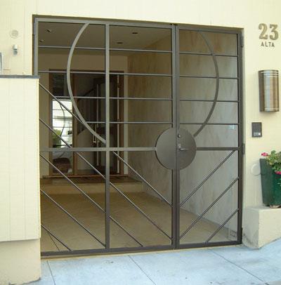 Security doors security door front door for Front door security